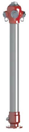Nadzemni hidrant DN 80 tip 2017 Standard