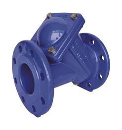Nepovratni ventil s kroglo ‐ prirobnični
