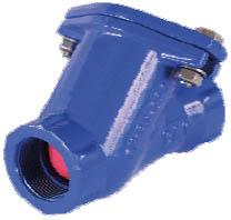 Nepovratni ventil s kroglo ‐ navojni