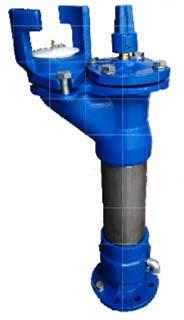 Podzemni hidrant DN 80/750 ‐ 1250  Inox